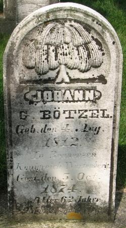 Johann Gottfried Botzel