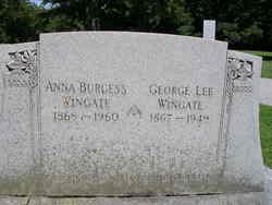 Anna <i>Burgess</i> Wingate