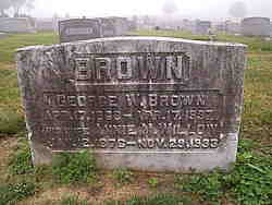 Annie M <i>Willow</i> Brown
