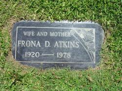 Frona D. Atkins