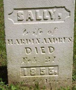 Sarah Sally <i>Benjamin</i> Andrus
