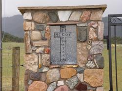 Mc Coy Cemetery