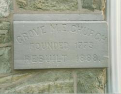Grove Methodist Church Cemetery
