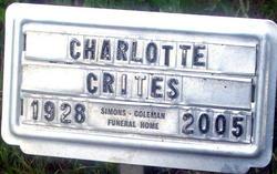 Charlotte Ann <i>Scharf</i> Crites