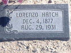 Lorenzo Hatch, Jr
