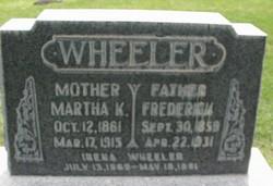 Martha <i>Knight</i> Wheeler