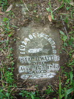 Elizabeth Sarah <i>Walter</i> Waters