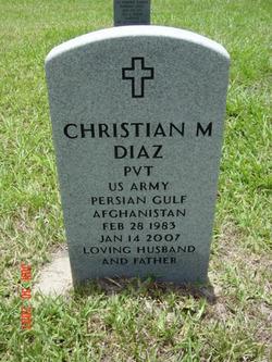 Christian M. Diaz