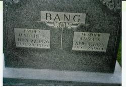 Martin John Bang