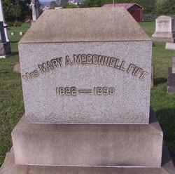 Mary A <i>McConnell</i> Fife