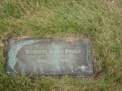 Elizabeth <i>Gibson</i> Donald