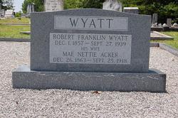 Mae Nettie <i>Acker</i> Wyatt
