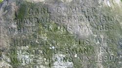Carl G Adler