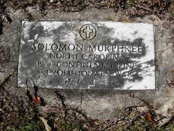 Solomon Murphree, Sr