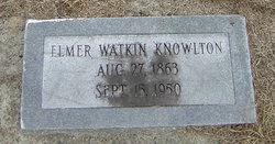 Elmer Watkin Knowlton