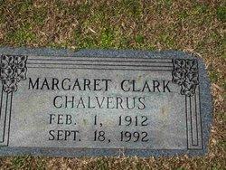 Margaret <i>Clark</i> Chalverus