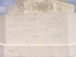Warloy-Baillon Communal Cemetery Extension