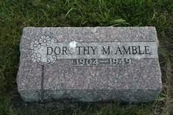 Dorothy Mathilde Amble
