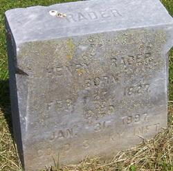 Henry Harrison Rader