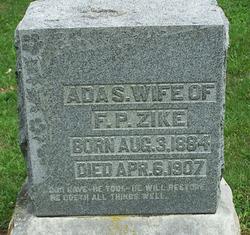 Ada S. <i>Walker</i> Zike