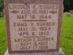 Emma V. <i>Raney</i> Surber