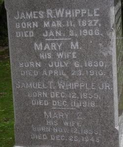 Mary E. <i>Northrup</i> Whipple