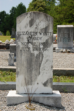 Elizabeth Ann Lizzie <i>Wyatt</i> Clardy