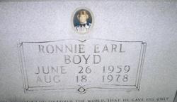 Ronnie Earl Boyd