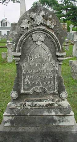 Mary E. <i>Martin</i> Armstrong