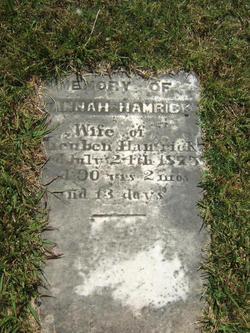 Hannah <i>McSwain</i> Hamrick