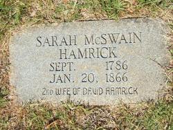 Sarah McSwain Hamrick