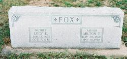 Lucille Elizabeth Lucy <i>Fox</i> Fox