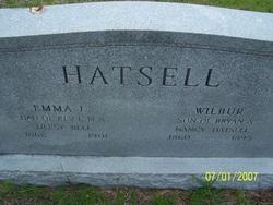 Emma L <i>Bell</i> Hatsell