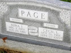 Nina Irene <i>Stayton</i> Page