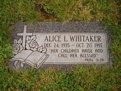 Alice L Whitaker
