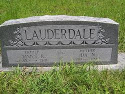 James K Lauderdale