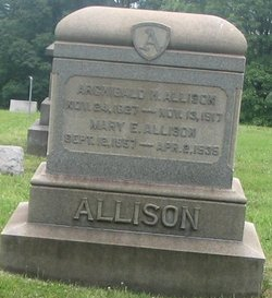 Mary E <i>Williamson</i> Allison