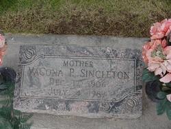 VaCona <i>P</i> Singleton