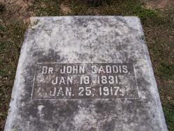 Dr John Thomas Gaddis