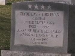 Gen Clyde Davis Eddleman