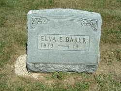 Elva E <i>Reid</i> Baker