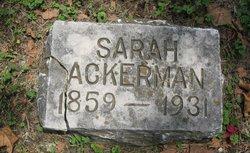 Sarah C <i>Trushell</i> Ackerman