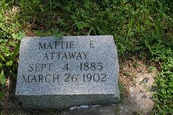 Mattie E. Attaway