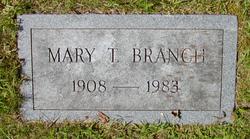 Mary <i>Taliaferro</i> Branch