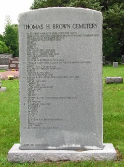 Thomas H. Brown Cemetery
