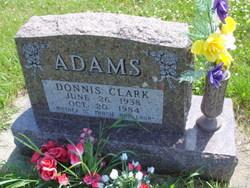 Donnis <i>Clark</i> Adams