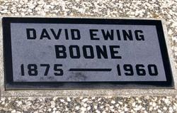 David Ewing Boone, Jr