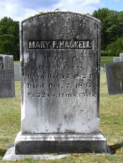 Mary P. <i>Haskell</i> Cross