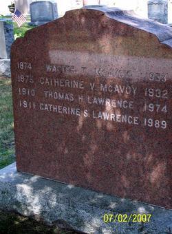 Catherine <i>McAvoy</i> Lawrence