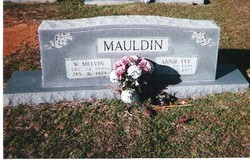 Annie Lee <i>Craft</i> Mauldin